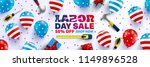 labor day sale brochures poster ... | Shutterstock .eps vector #1149896528
