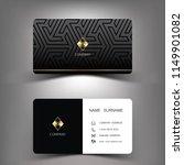 business card template design.... | Shutterstock .eps vector #1149901082