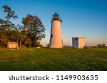 turkey point lighthouse  at elk ... | Shutterstock . vector #1149903635