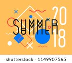 abstract summer background for... | Shutterstock .eps vector #1149907565