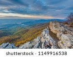 autumn sunset view from little... | Shutterstock . vector #1149916538