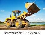 Heavy Wheel Loader Excavator...