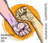 international youth day design... | Shutterstock .eps vector #1149920075