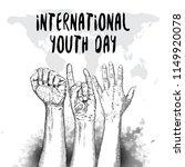 international youth day design... | Shutterstock .eps vector #1149920078
