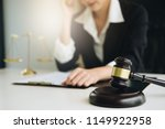 business woman or lawyers... | Shutterstock . vector #1149922958