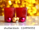 christmas card | Shutterstock . vector #114994552