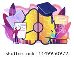 brain with magnigier and... | Shutterstock .eps vector #1149950972