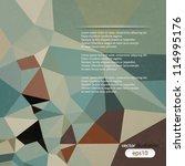 vector abstract illustration... | Shutterstock .eps vector #114995176