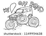 simple sketchy illustration off ... | Shutterstock .eps vector #1149954638