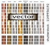 set of metal gradients gold ...   Shutterstock .eps vector #1149956192