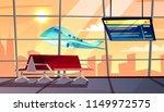 airport terminal vector... | Shutterstock .eps vector #1149972575