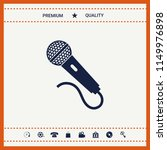 microphone icon symbol | Shutterstock .eps vector #1149976898