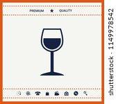 wineglass symbol icon | Shutterstock .eps vector #1149978542