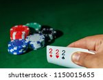 casino games concept poker... | Shutterstock . vector #1150015655