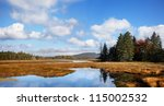 A Panoramic View Of The Marsh...