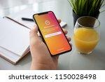 alushta  russia   july 27  2018 ... | Shutterstock . vector #1150028498