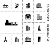 urban icon. collection of 13... | Shutterstock .eps vector #1150050788