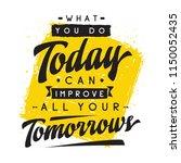 inspirational quote  motivation.... | Shutterstock .eps vector #1150052435