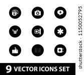 aid icon. collection of 9 aid... | Shutterstock .eps vector #1150052795