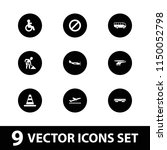 traffic icon. collection of 9...   Shutterstock .eps vector #1150052798