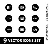 pad icon. collection of 9 pad... | Shutterstock .eps vector #1150052918
