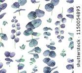 watercolor seamless pattern... | Shutterstock . vector #1150054895