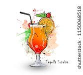 hand drawn illustration of... | Shutterstock . vector #1150068518