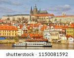 the largest ancient castle in... | Shutterstock . vector #1150081592