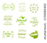 fresh  natural  premium and... | Shutterstock .eps vector #1150083302