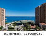 view of the coast of the... | Shutterstock . vector #1150089152