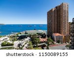 view of the coast of the... | Shutterstock . vector #1150089155