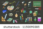 vector object isolated... | Shutterstock .eps vector #1150090385
