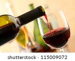 wine pour | Shutterstock . vector #115009072