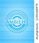 ambient water wave concept... | Shutterstock .eps vector #1150100975