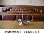 symbol of law and justice in... | Shutterstock . vector #115010416