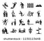 set of 20 icons such as ...