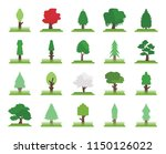 set of 20 icons such as tree ...