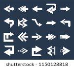 set of 20 simple editable icons ... | Shutterstock .eps vector #1150128818