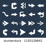 set of 20 simple editable icons ... | Shutterstock .eps vector #1150128842