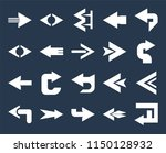 set of 20 simple editable icons ... | Shutterstock .eps vector #1150128932