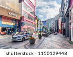 busan  south korea   october 7  ...   Shutterstock . vector #1150129448