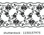 seamless vector lace pattern | Shutterstock .eps vector #1150157975