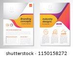 template vector design for... | Shutterstock .eps vector #1150158272