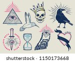 vintage tattoo vector graphics. | Shutterstock .eps vector #1150173668