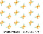 hyalophora cecropia  cecropia... | Shutterstock .eps vector #1150183775