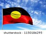 national flag of australian... | Shutterstock . vector #1150186295