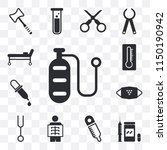 set of 13 simple editable icons ...   Shutterstock .eps vector #1150190942