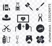 set of 13 simple editable icons ...   Shutterstock .eps vector #1150190975