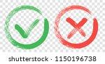 tick and cross sign elements....   Shutterstock .eps vector #1150196738