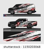 car wrap design vector  truck... | Shutterstock .eps vector #1150203068